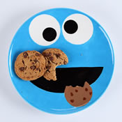 Cookie Monster Plate