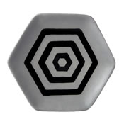Hail to Hexagons Plate