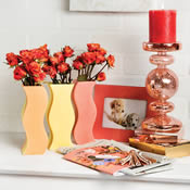 Summer Sunset Puzzle Vases