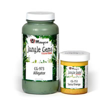 Mayco Jungle Gem Crystal Glazes