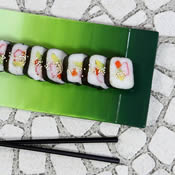 Sushi in Style Ombre Plate